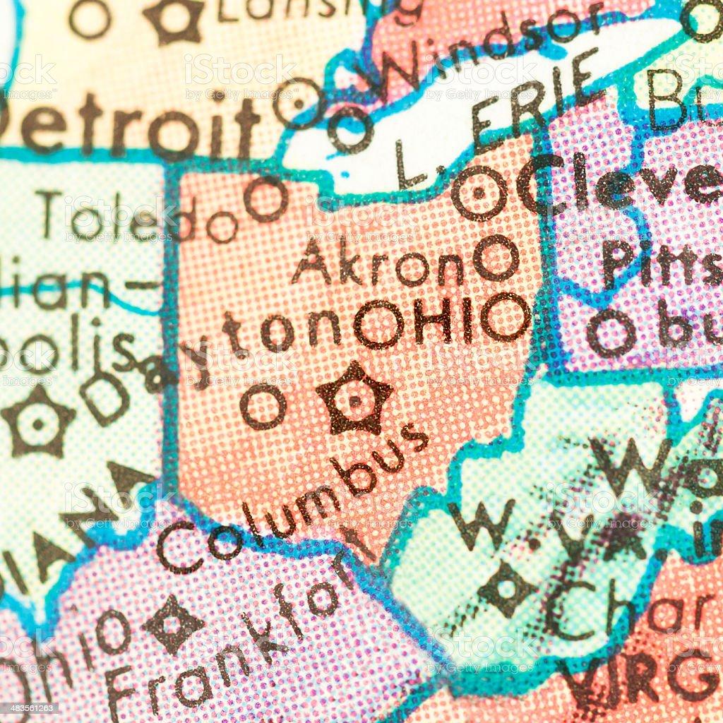 Travel the Globe Series - Ohio stock photo