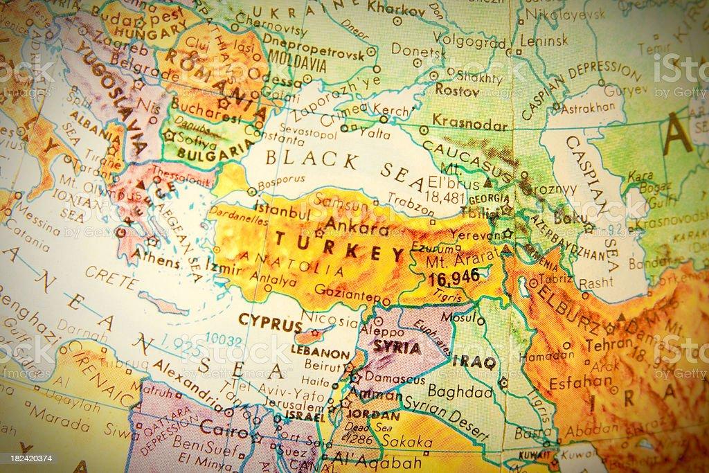 Travel the Globe Series - Turkey royalty-free stock photo