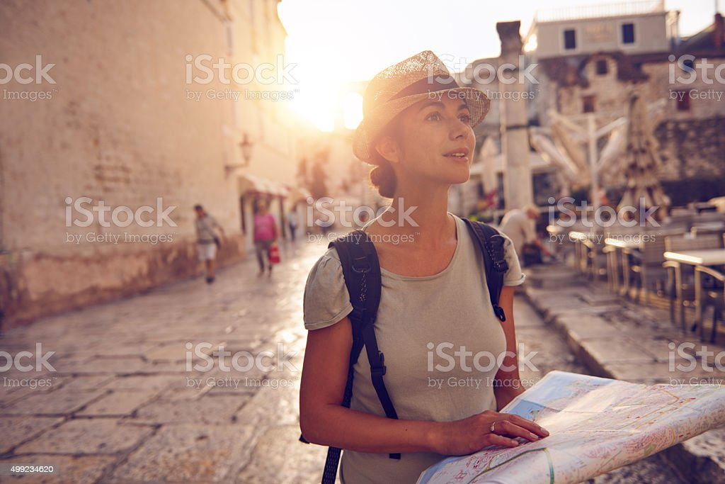 Travel- the only thing you buy that makes you richer stock photo