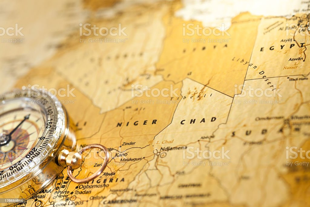 Travel to Africa royalty-free stock photo