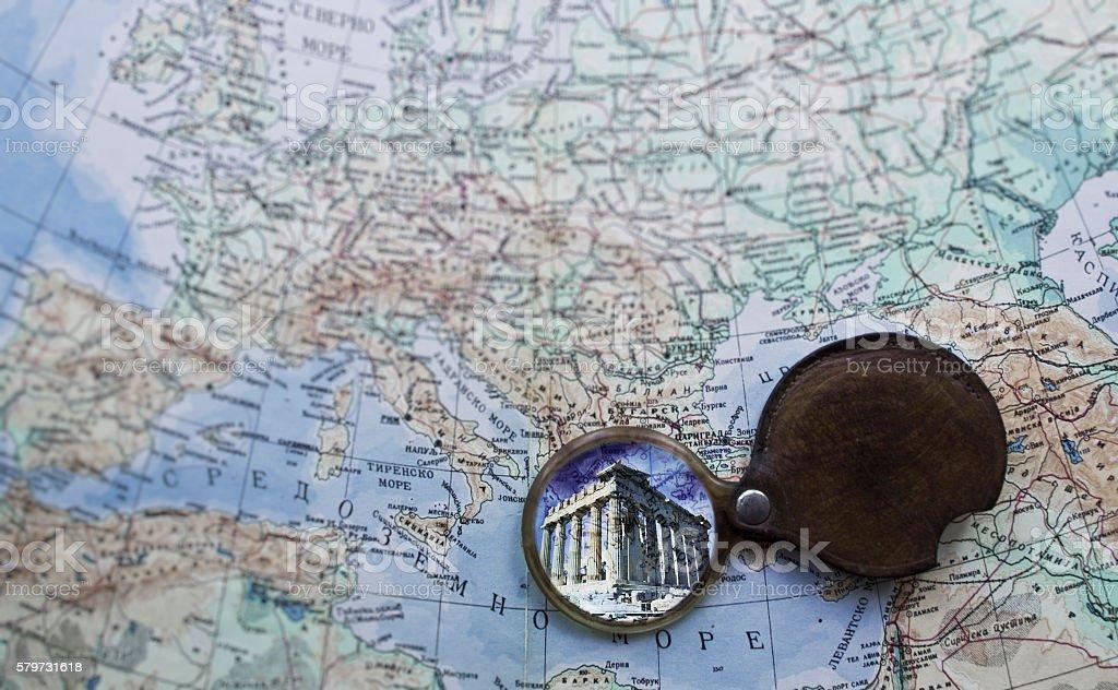 Travel to Athens stock photo
