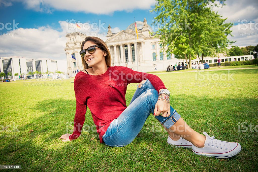 Travel to Berlin and discover German heritage, lifestyle and landmarks stock photo