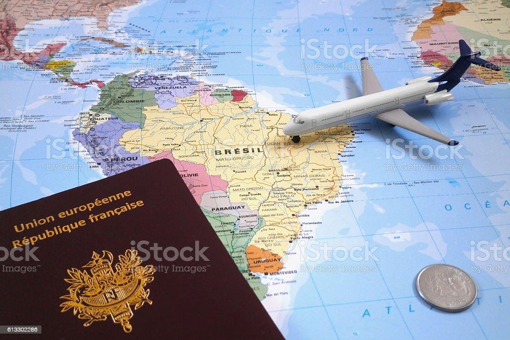 Travel to Brazil stock photo