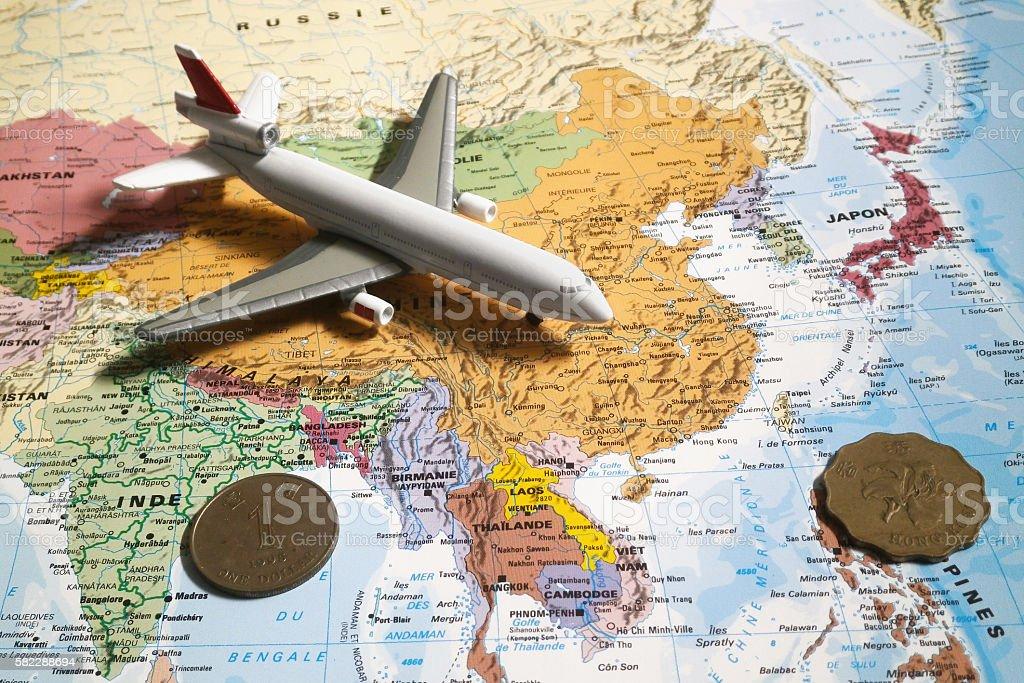 Travel to Hong Kong stock photo