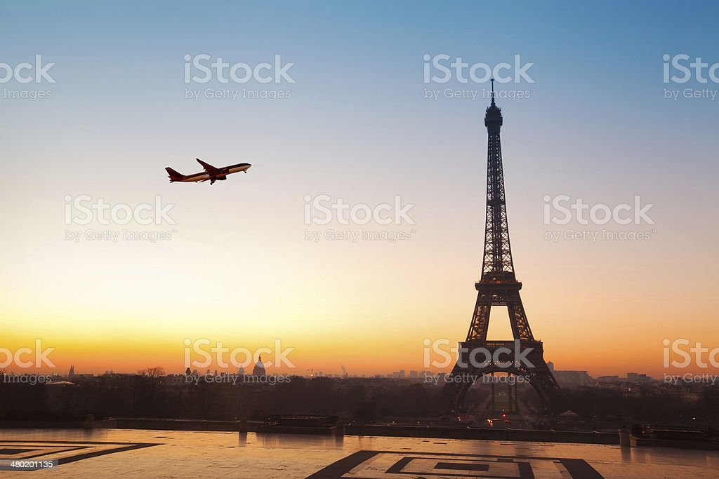 travel to Paris stock photo