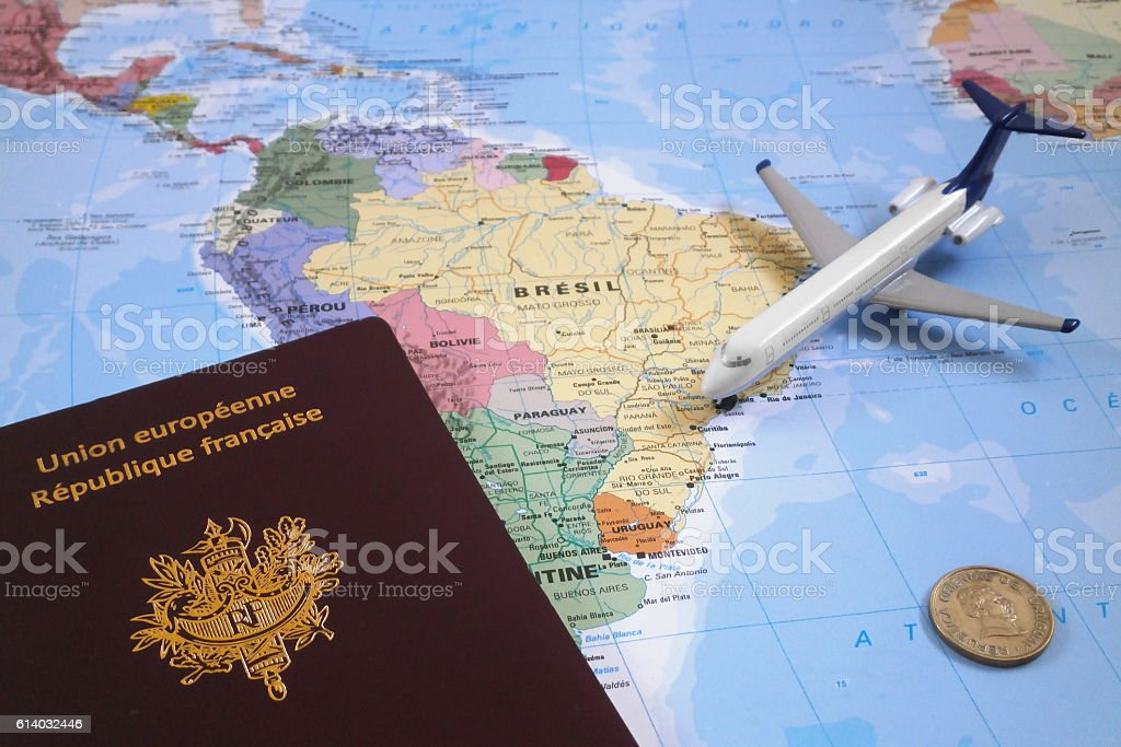 Travel to Uruguay stock photo