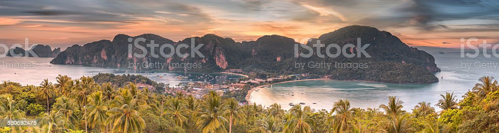 Travel vacation background stock photo