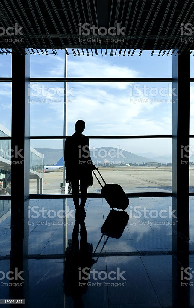 travel woman royalty-free stock photo