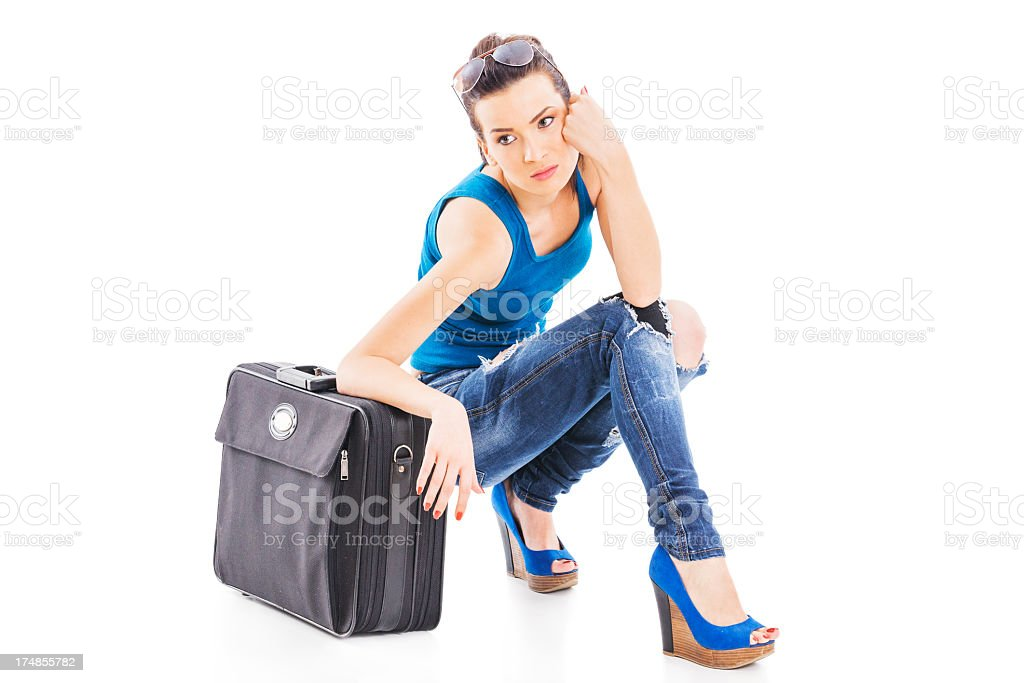Traveler royalty-free stock photo