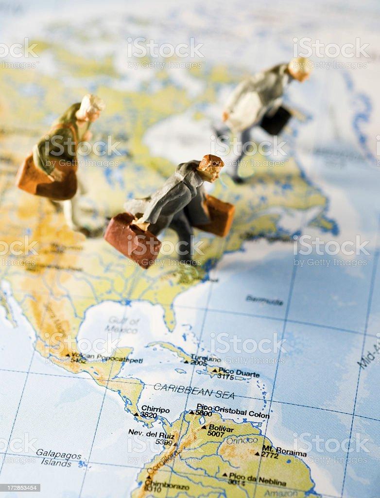 Travelers royalty-free stock photo