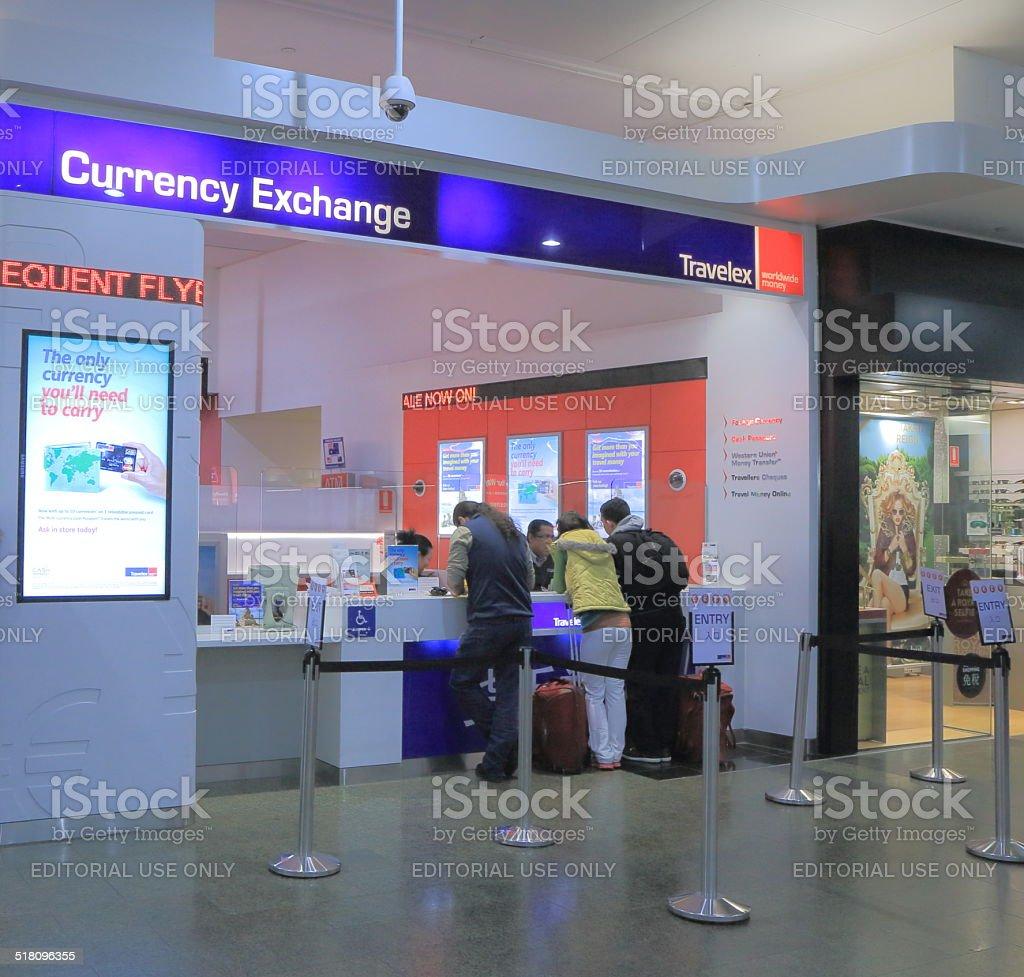 Travelex Currency Exchange stock photo