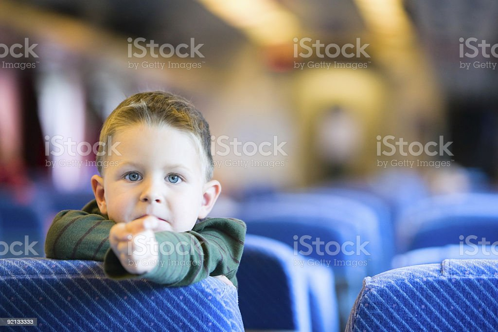 Traveling by Train royalty-free stock photo