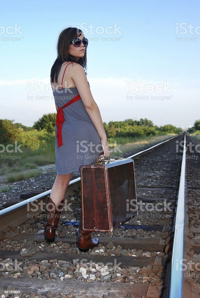 Reisen Mädchen#2 Lizenzfreies stock-foto