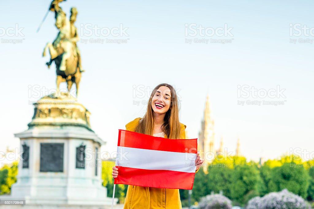 Traveling in Austria stock photo