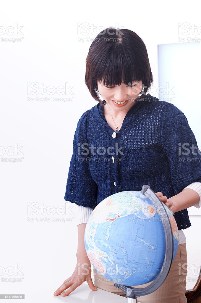 Traveling Overseas royalty-free stock photo