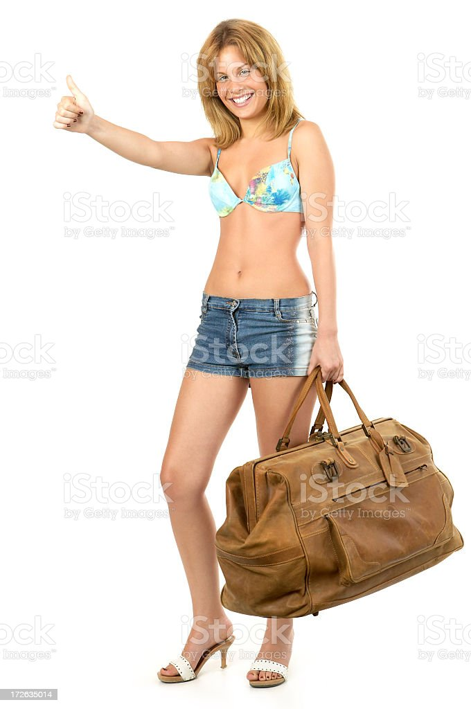 Traveling royalty-free stock photo