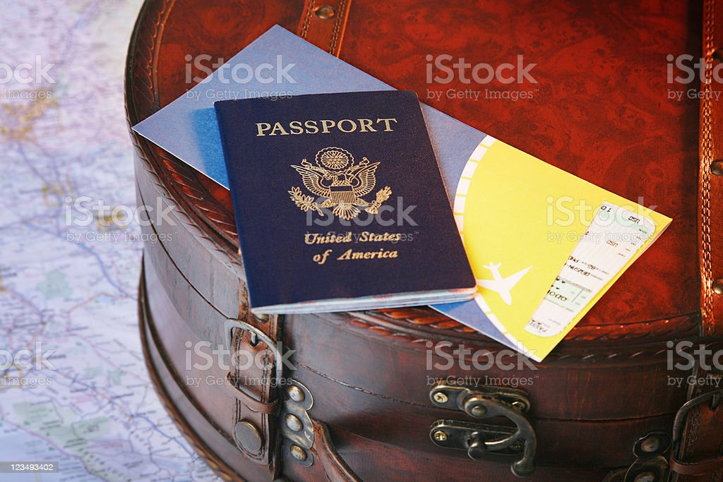 traveling the world royalty-free stock photo