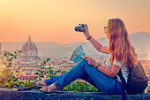 Traveller in Florence