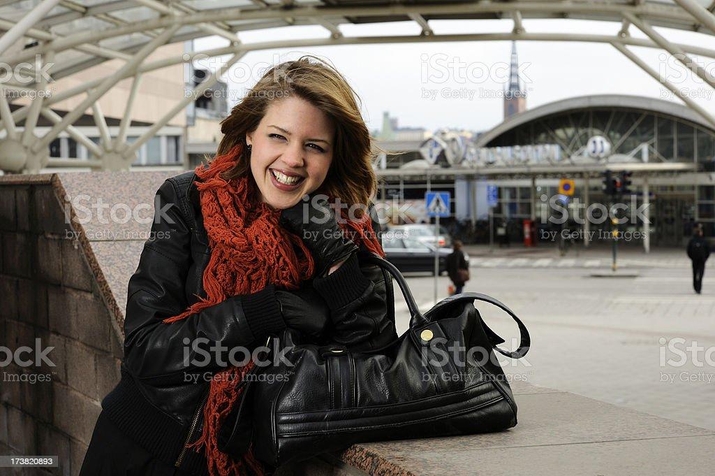 Traveller royalty-free stock photo