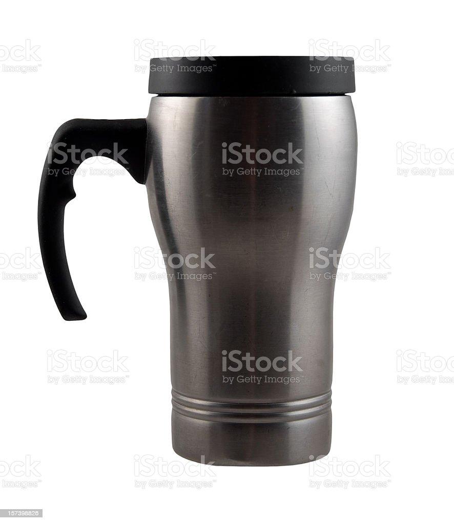 Travellers Coffe Mug royalty-free stock photo