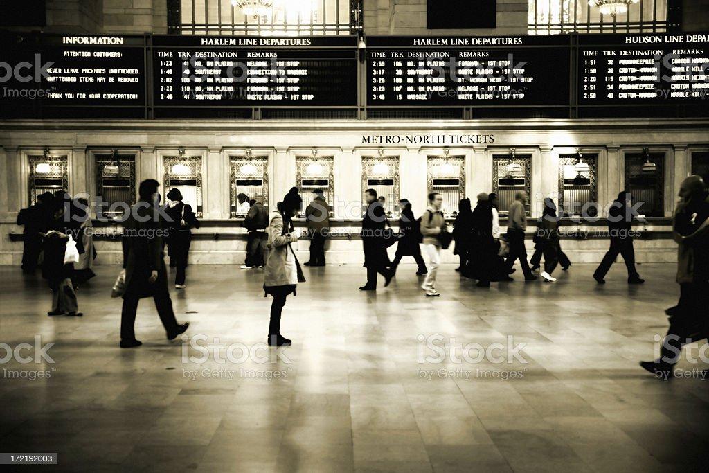 Travellers stock photo