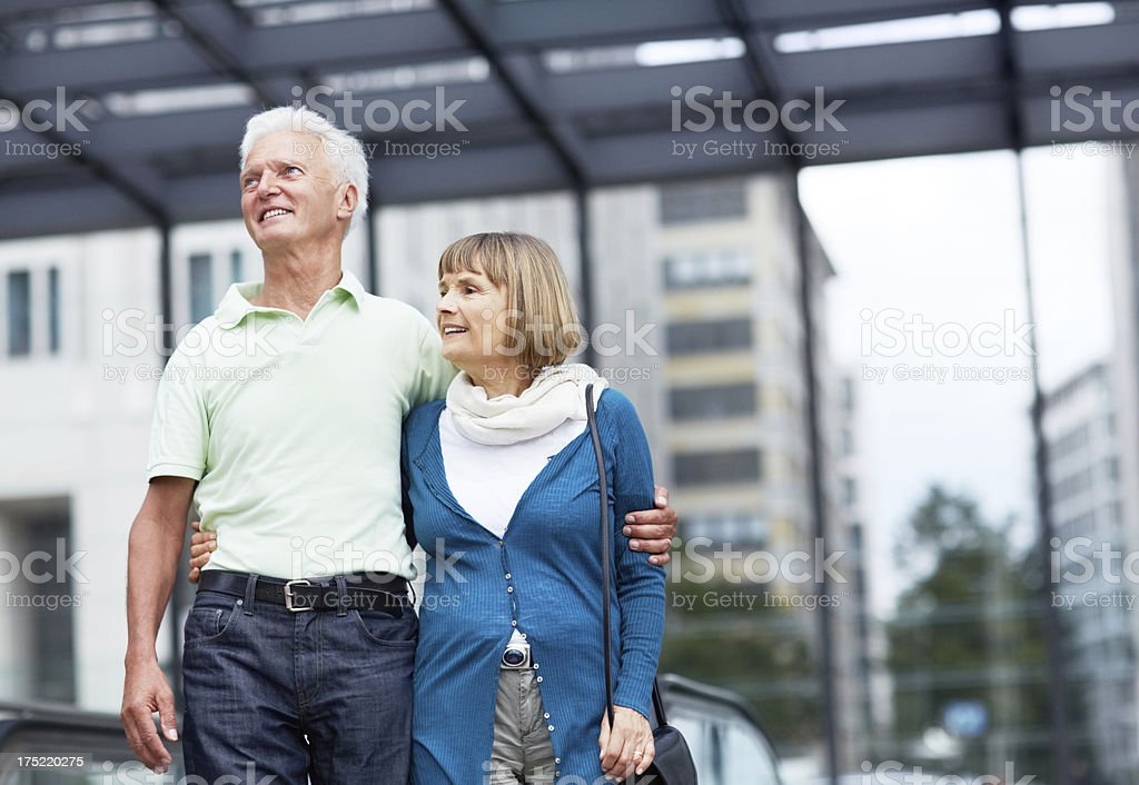 Travelling after retirement royalty-free stock photo