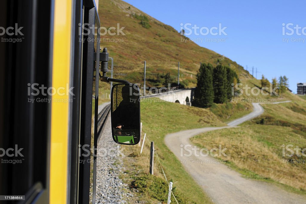 Travelling By Train - XLarge stock photo