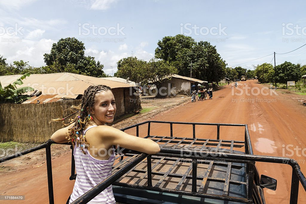 Travelling for africa royalty-free stock photo