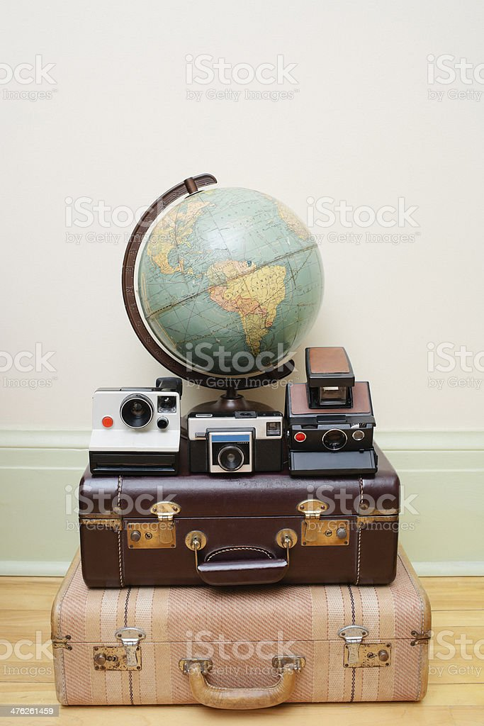 Travelling the Globe stock photo