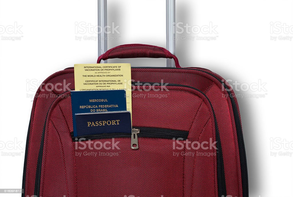 Travelling to Brazil stock photo