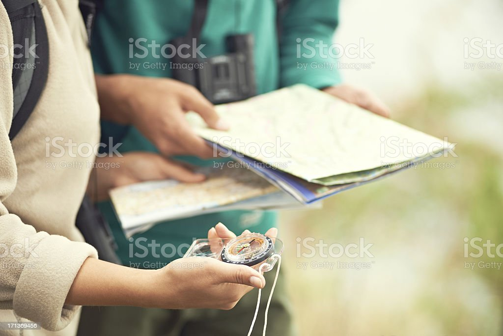 Travelling young people stock photo