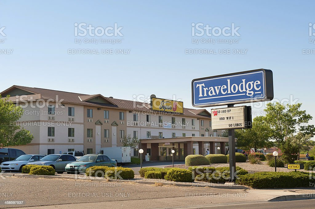 Travelodge Hotel stock photo