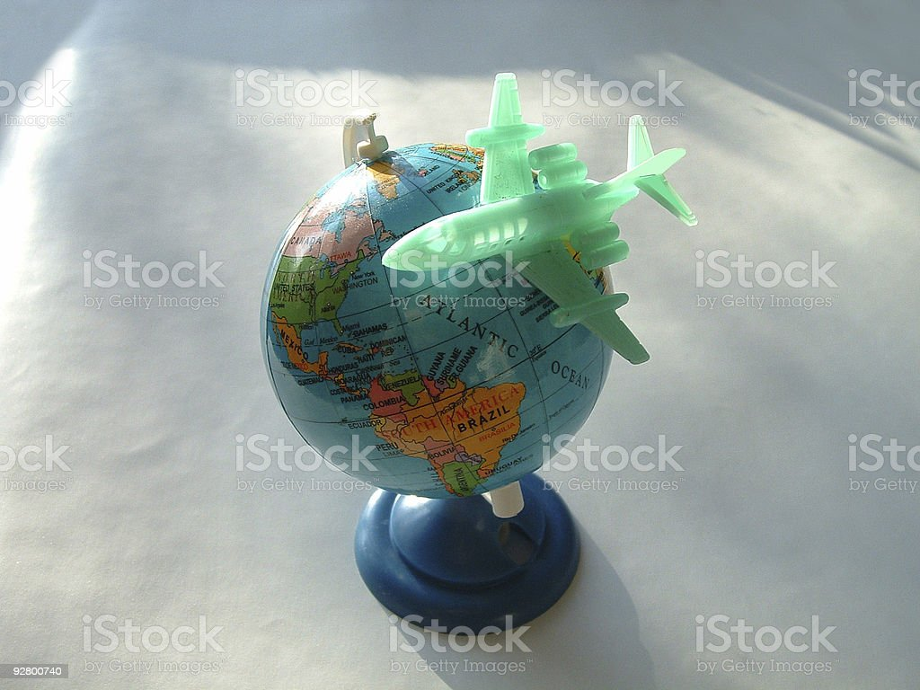 Travel-symbol1 stock photo