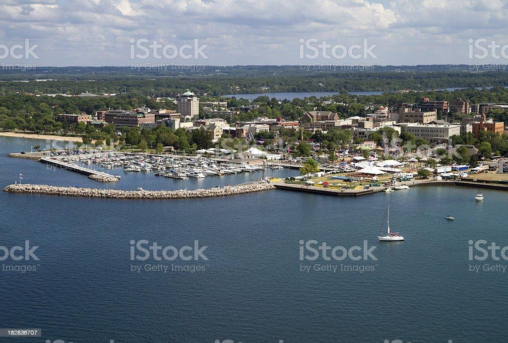 Traverse City, Michigan stock photo