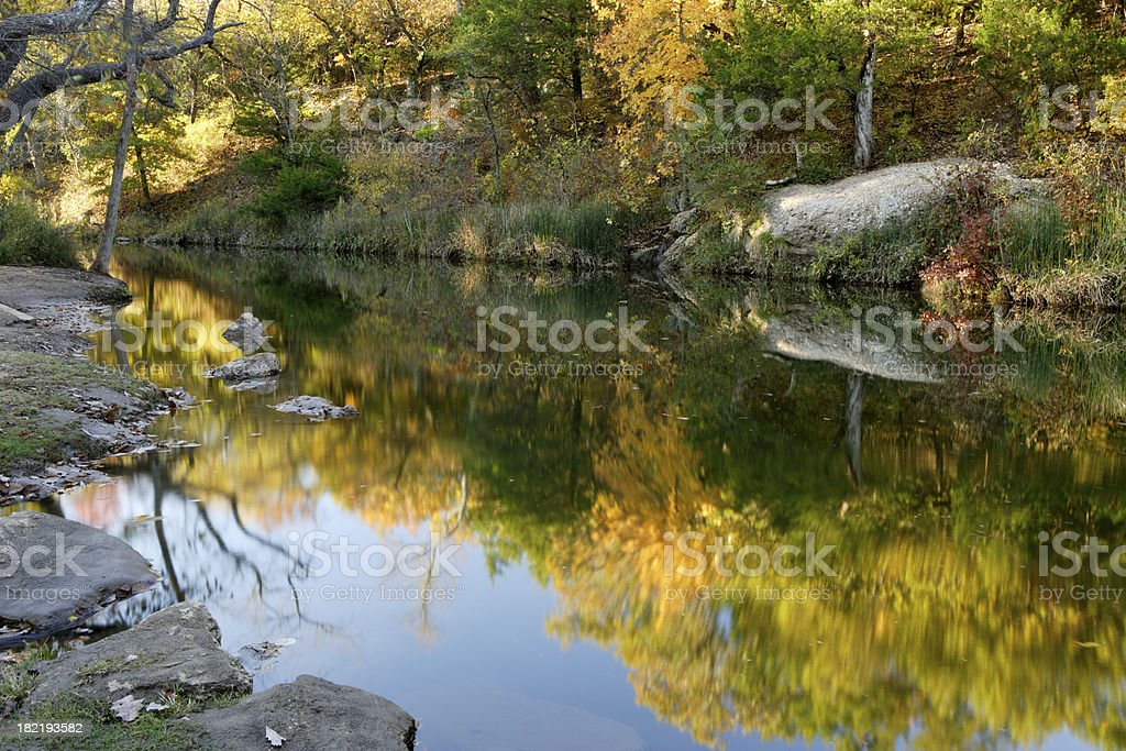 Travertine Creek royalty-free stock photo