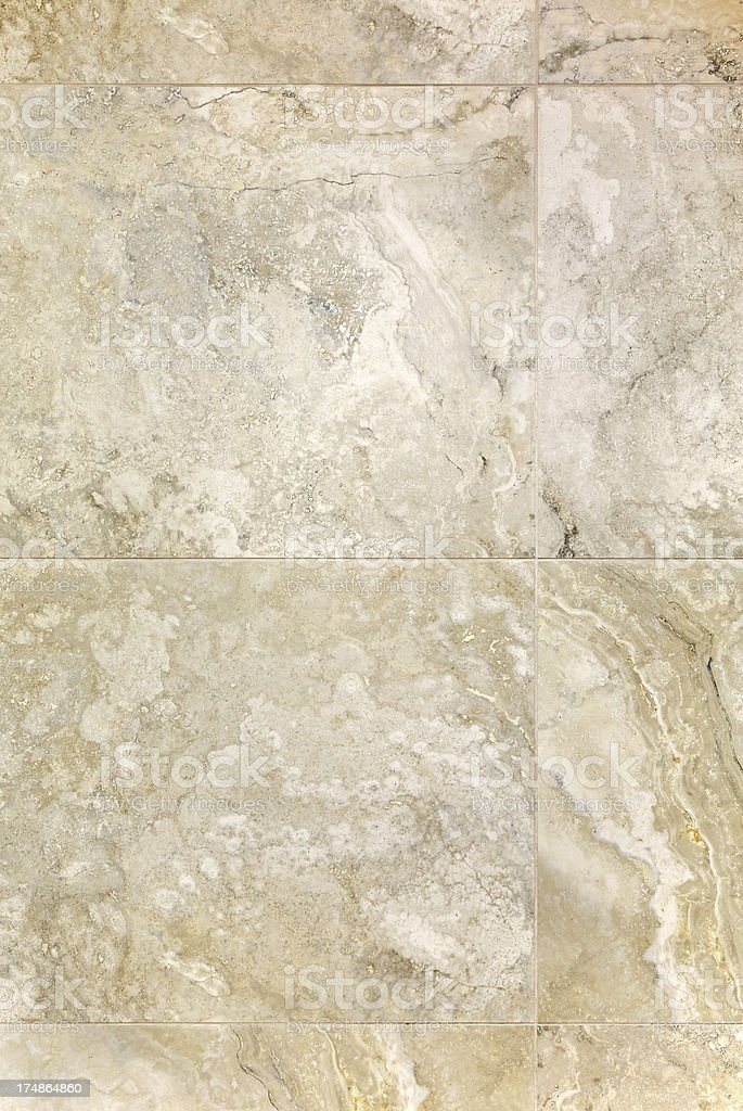 travertine stone tiles stock photo