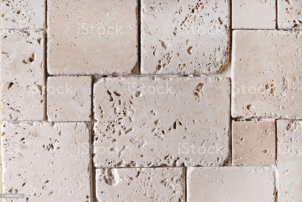 travertine tiles  texture background royalty-free stock photo
