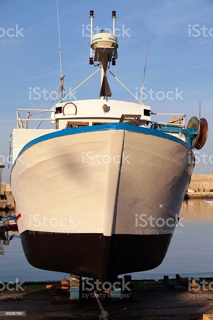 Trawler stock photo