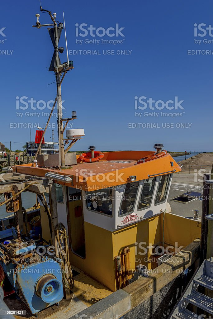 trawler royalty-free stock photo