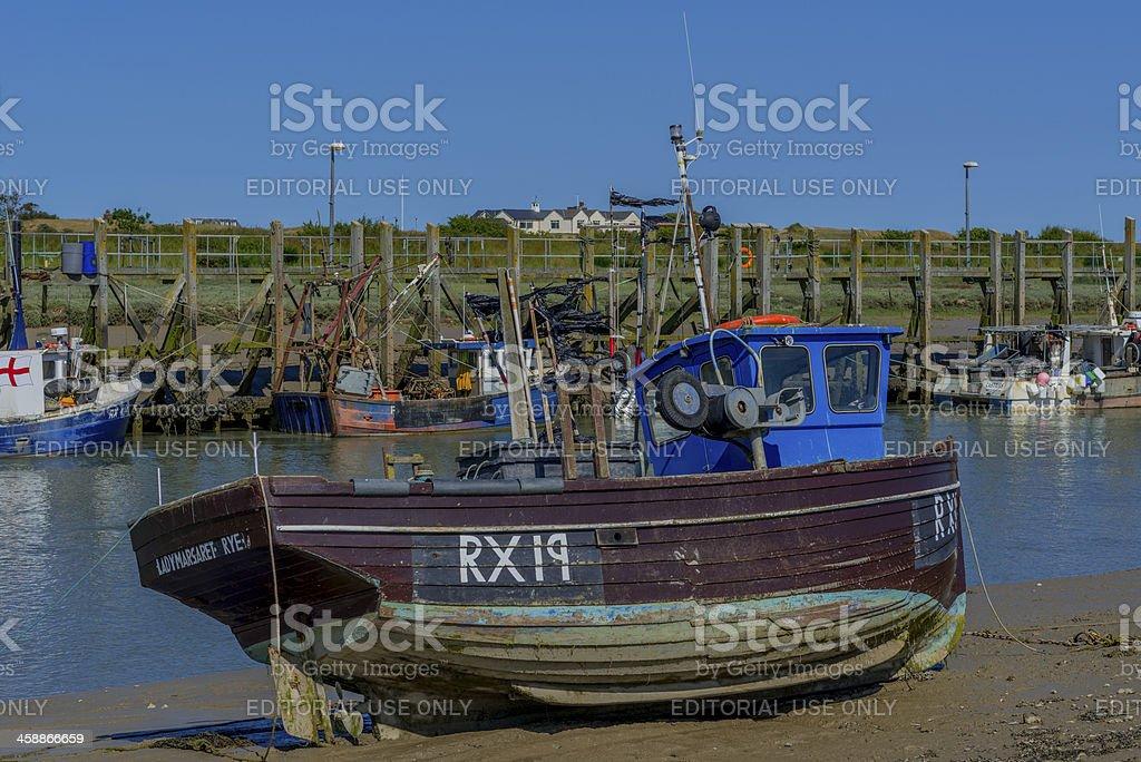 trawler royalty-free stock photo