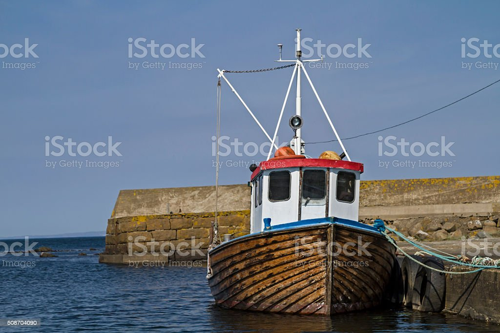 Trawler stock photo