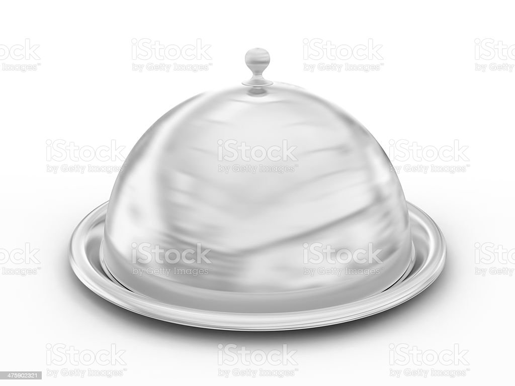 Tray with cover stock photo