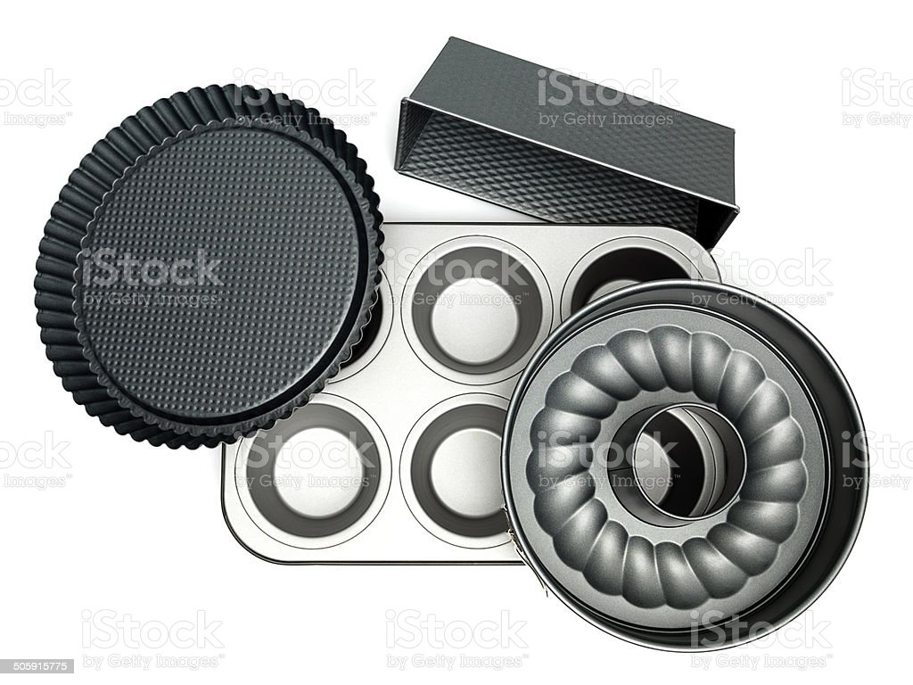 trays for cakes royalty-free stock photo