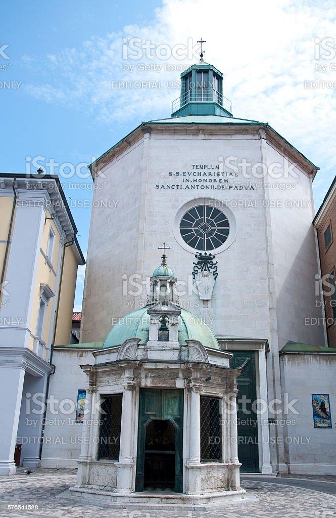'Tre Martiri' square in rimini in the Emilia Romagna region stock photo