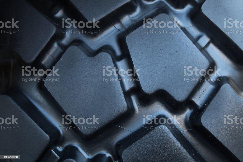 Tread truck tire stock photo