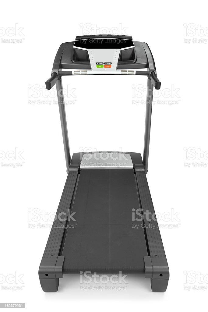 Treadmill Isolated royalty-free stock photo