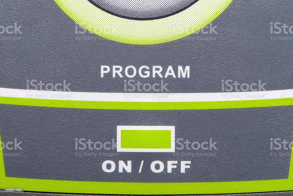 Treadmill Specific Controller royalty-free stock photo