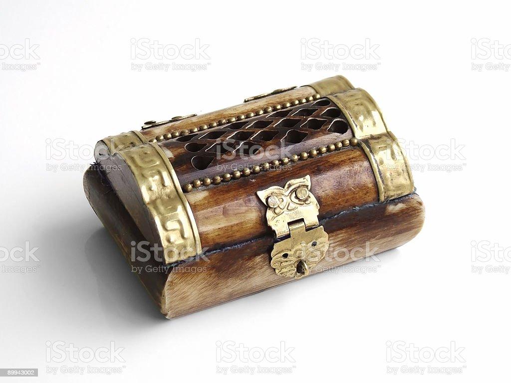 Treasure box royalty-free stock photo