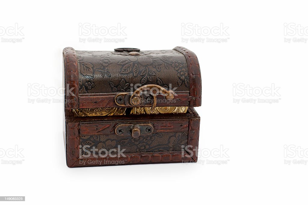 treasure chest (toy) royalty-free stock photo