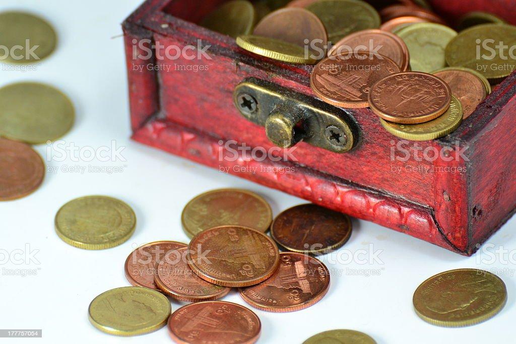 Treasure chest royalty-free stock photo